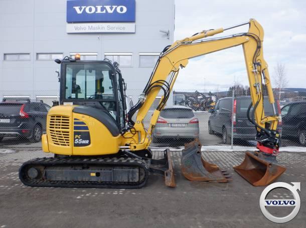 Komatsu PC55MR, Mini Excavators <7t (Mini Diggers), Construction Equipment