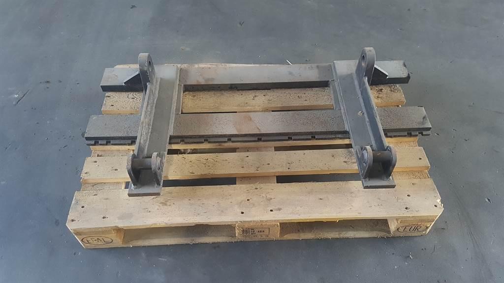 Terex TL 70 - Forks/Palletgabeln/Palletvorken
