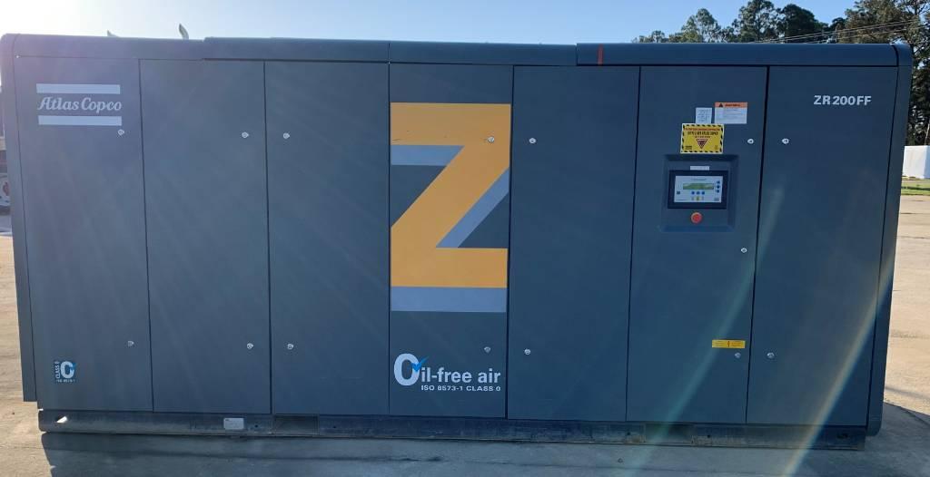 Atlas Copco ZR 200FF, Compressors, Industrial
