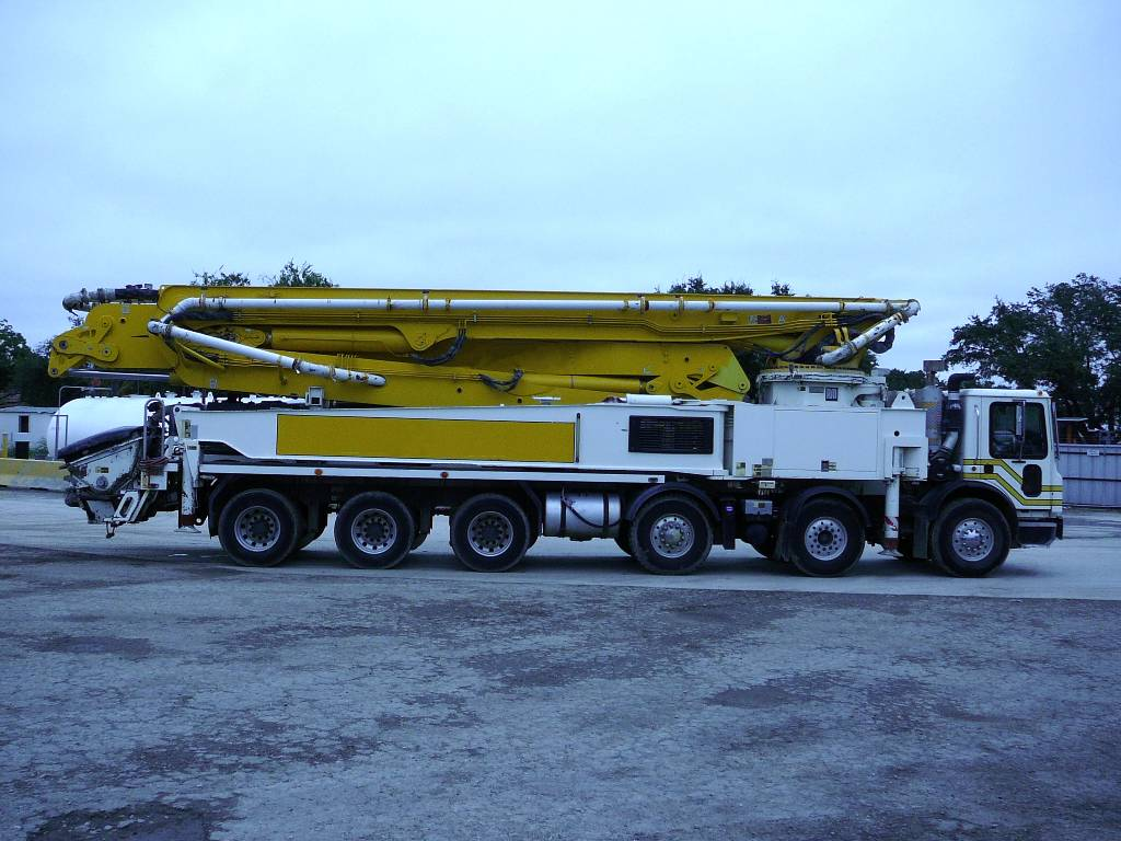 Putzmeister 56Z.16H, Boom Pumps, Construction Equipment