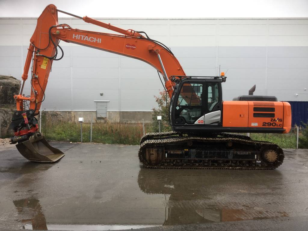 Hitachi ZX290LC-5B, Crawler excavators, Construction