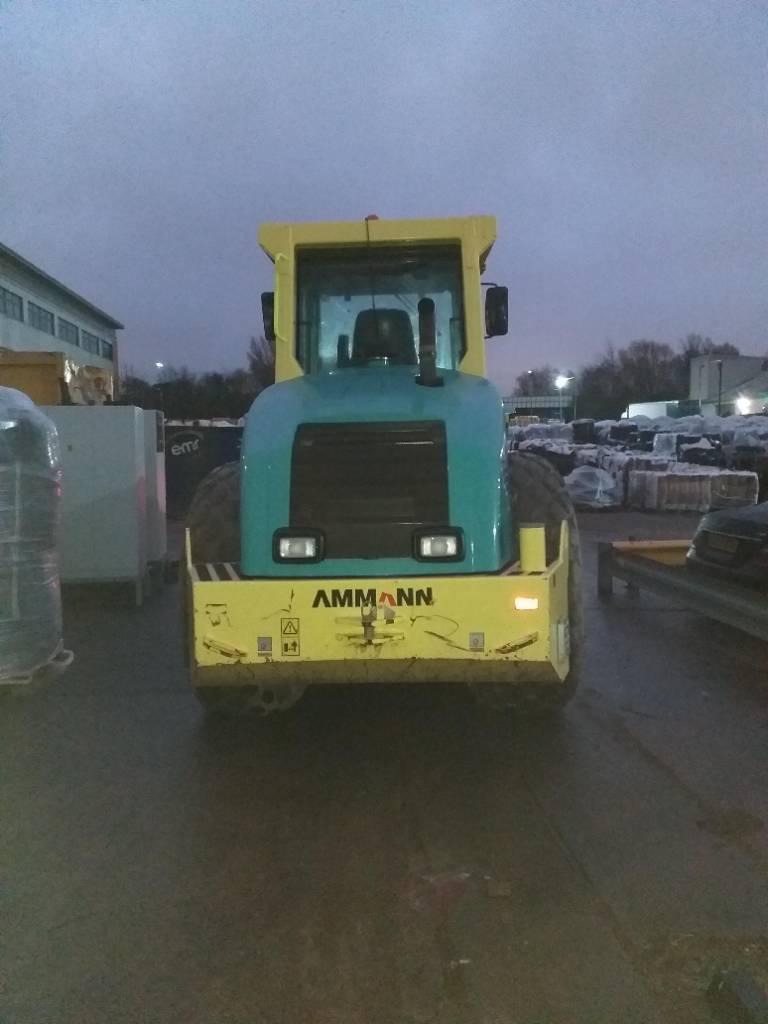 Ammann ASC 130, Twin drum rollers, Construction