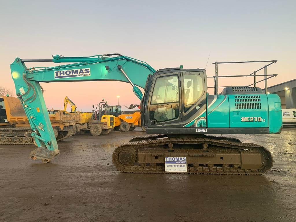 Kobelco SK 210 LC, Crawler excavators, Construction
