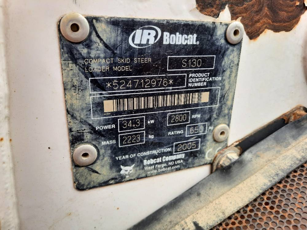 Bobcat S 130, Skid Steer Loaders, Construction Equipment