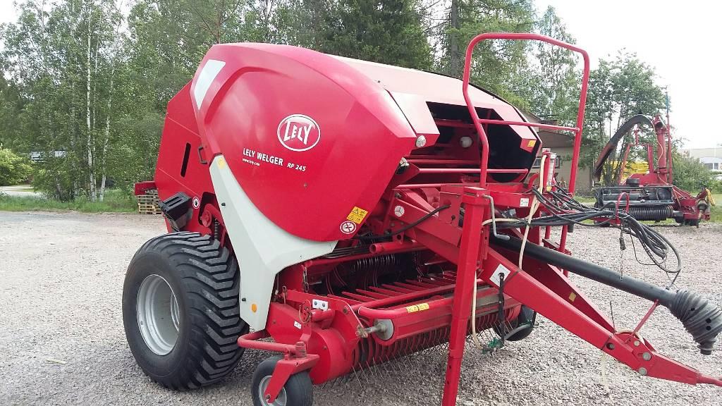 Welger RP245 Suomi, Pyöröpaalaimet, Maatalous
