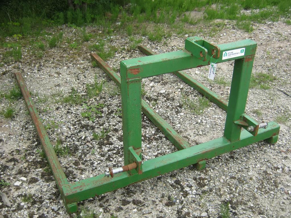 [Other] Storballe transport spyd 3-punkt ophæng, Andet udstyr til foderhøster, Landbrug