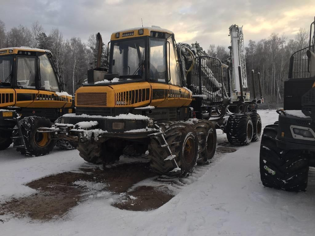 Ponsse Buffalo 8W, Forwarders, Forestry