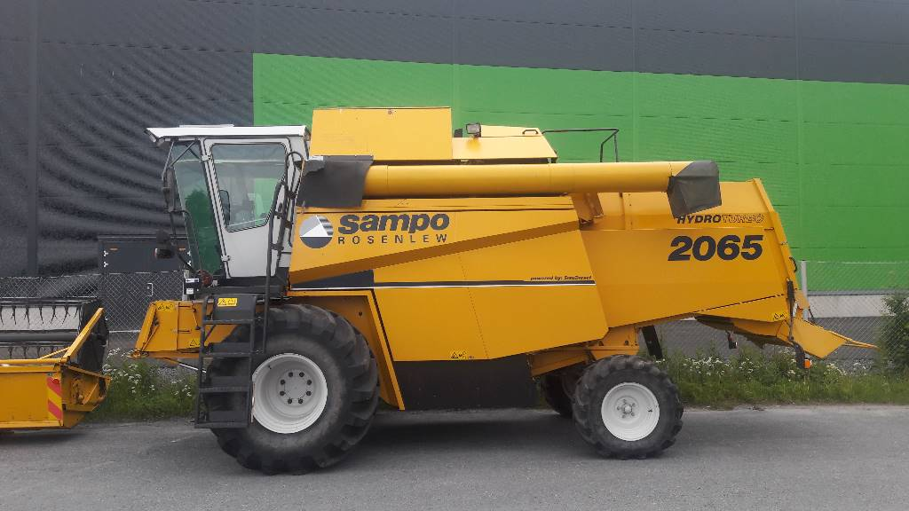 Sampo-Rosenlew 2065, Combine harvesters, Agriculture