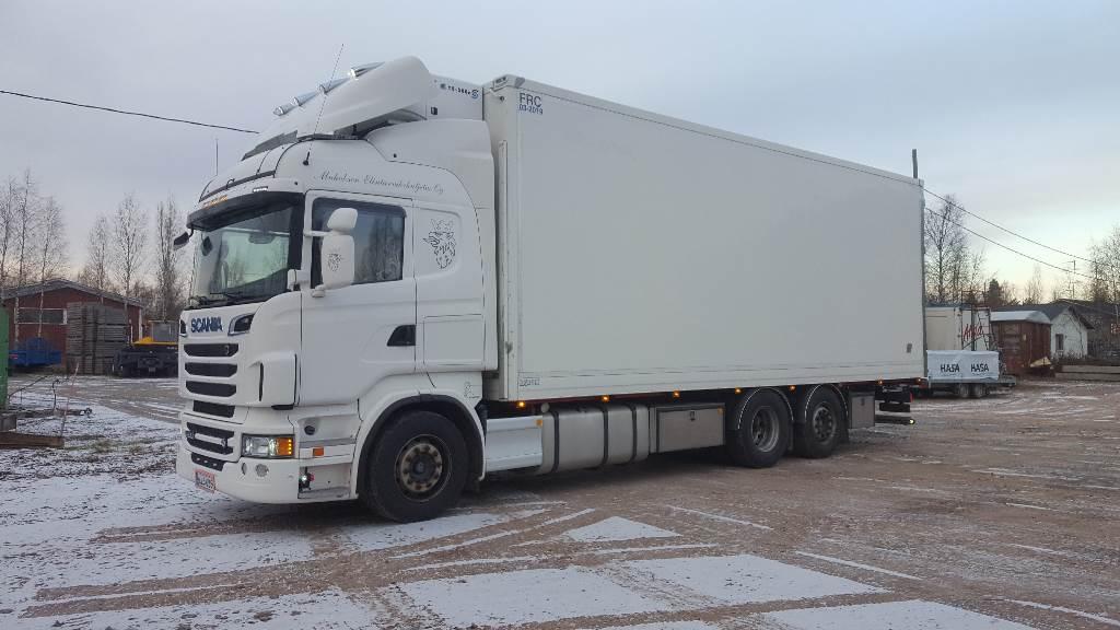 Scania R500LB6X2*4MLB, Kylmä-/Lämpökori kuorma-autot, Kuljetuskalusto