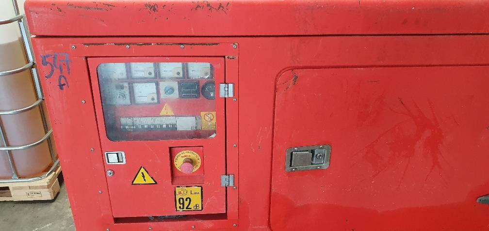 Himoinsa HIW 35, Generadores diesel, Construcción