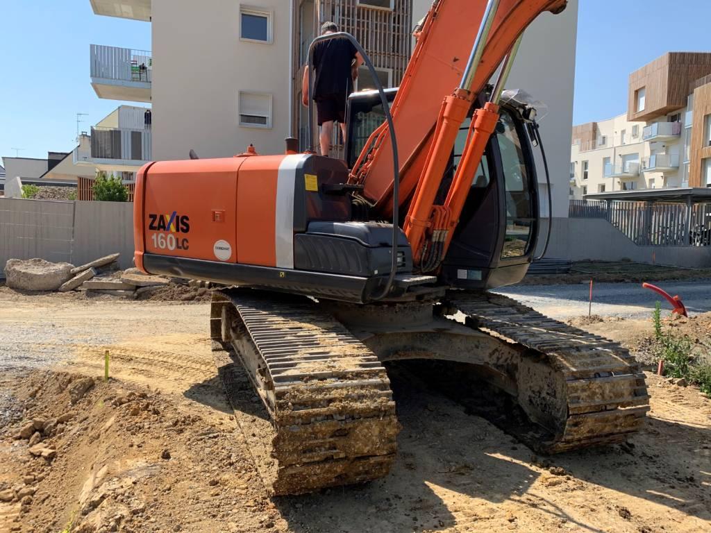 Hitachi ZX 160 LC-3, Crawler Excavators, Construction Equipment