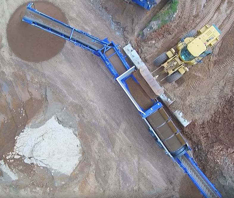 Edge TRM516, Screeners, Construction Equipment