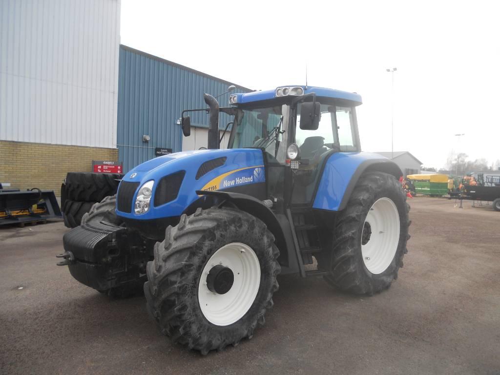 New Holland TVT 195, Traktorer, Lantbruk