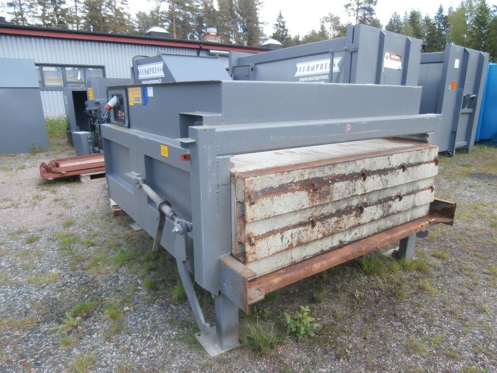 Europress Jätepuristin+30m3 säiliö Duomax, Jätepuristimet, Maarakennus