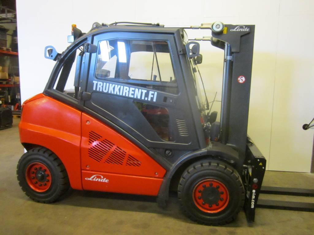 Linde H50D Containerversion, Dieseltrukit, Materiaalinkäsittely