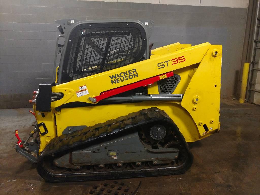 Wacker Neuson ST35, Skid steer, Construction Equipment