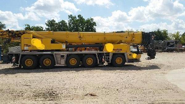 Grove GMK 5225 C116, Mobile and all terrain cranes, Construction Equipment