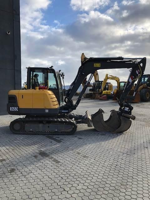 Volvo EC55c, Mini excavators, Construction Equipment
