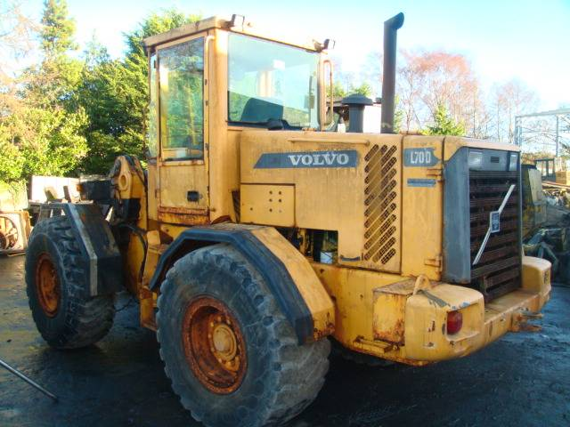for year price sale construction wheel volvo loaders used
