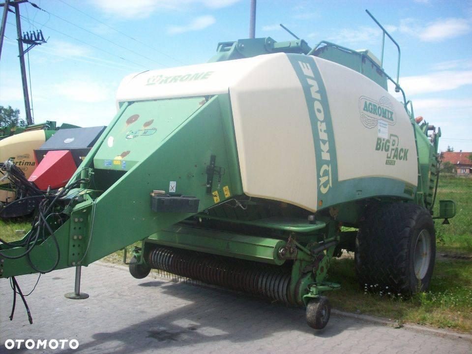 Krone Big Pack 12130, Prasy kostkujące, Maszyny rolnicze