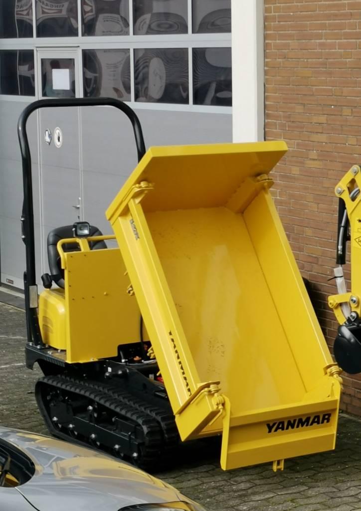 Yanmar C12R-B Raupendumper, Raupendumper, Baumaschinen
