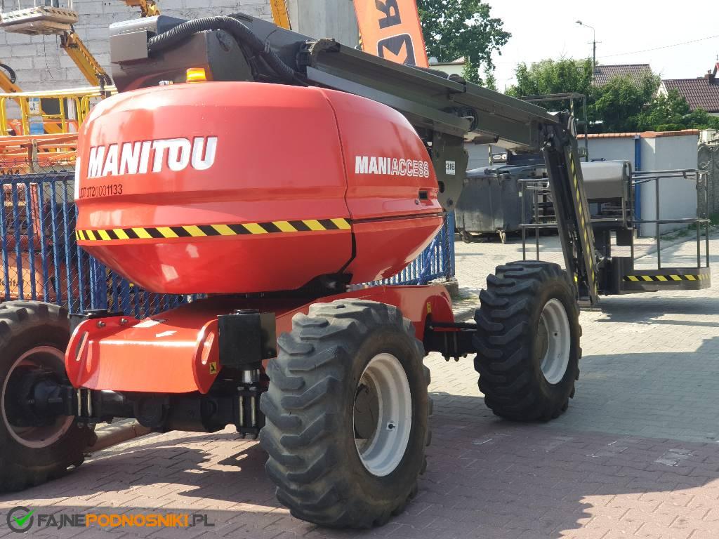 Manitou 180 ATJ, Podnośniki przegubowe, Maszyny budowlane