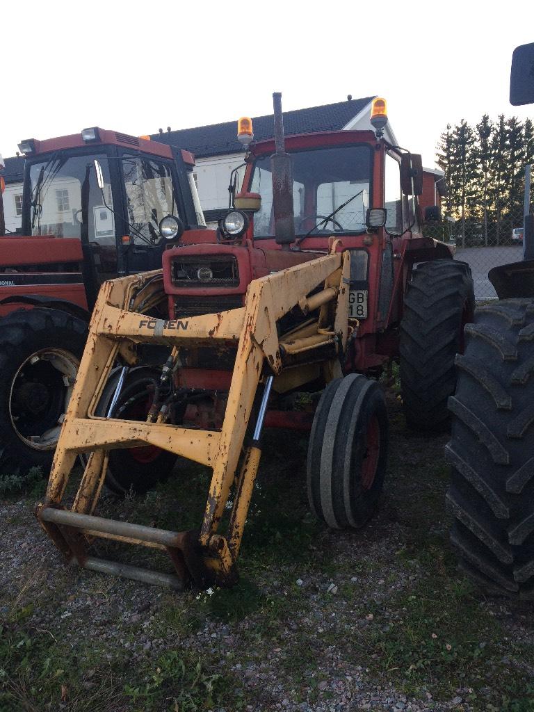 Volvo BM 650 Trima lastare -76, Traktorer, Lantbruk