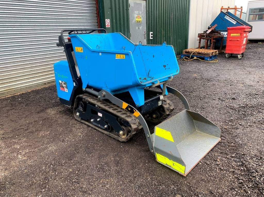 Messersi Fully Electric 1 tonne tracked carrier, Tracked dumpers, Construction