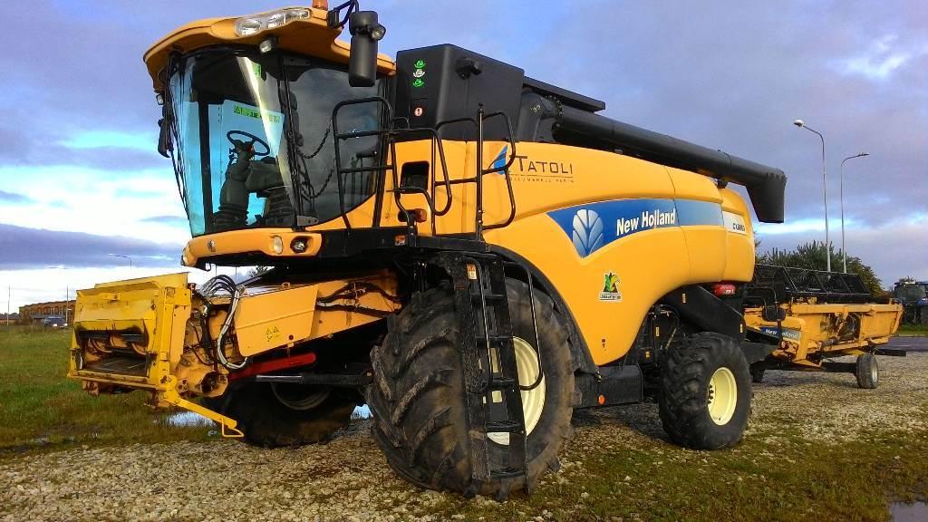 New Holland CX 8060, Kombainid, Põllumajandus