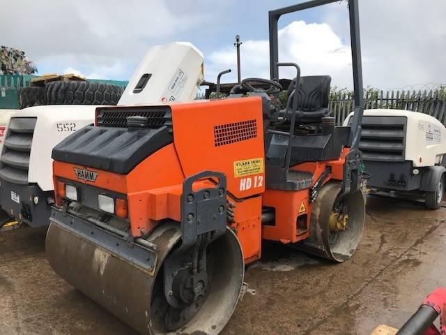 Hamm HD 12, Twin drum rollers, Construction Equipment
