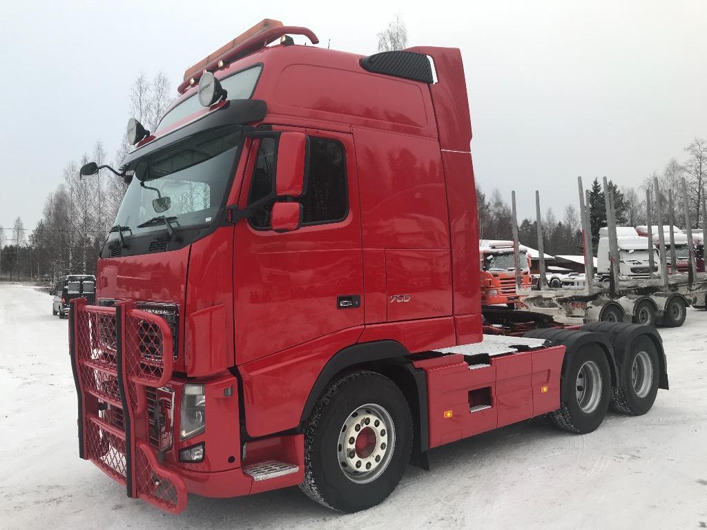 Volvo FH700 XXL 6X4 hydrauliikalla, Vetopöytäautot, Kuljetuskalusto