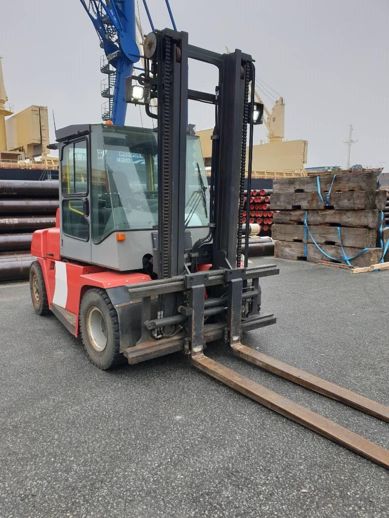 Kalmar DCE70-6HM, Diesel trucks, Material Handling