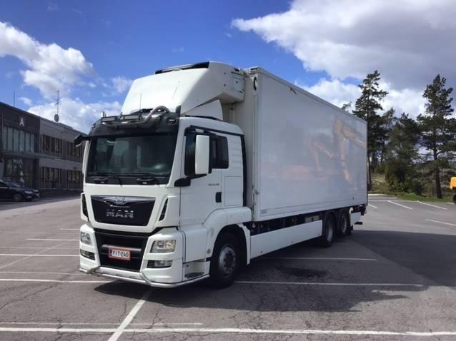MAN TGS26.480, Kylmä-/Lämpökori kuorma-autot, Kuljetuskalusto