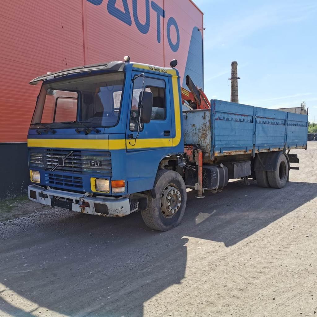 Volvo Trucks FL 7, Kranbilar, Transportfordon