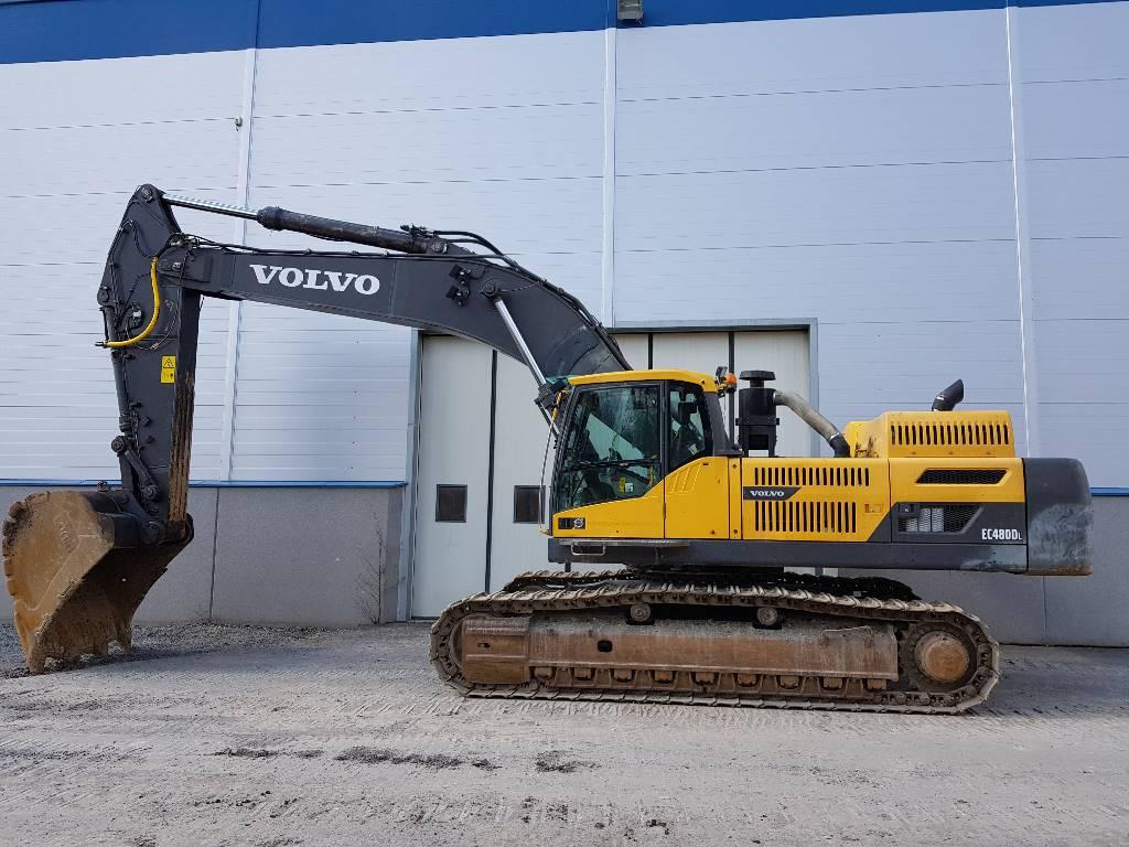 Volvo EC 480 D L, Telakaivukoneet, Maarakennus