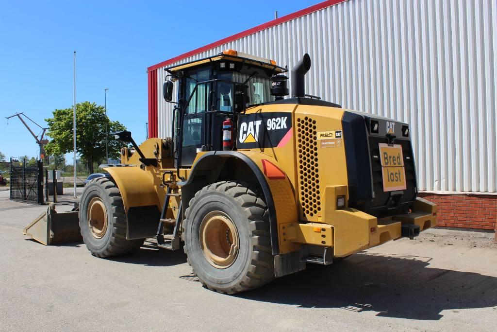 Caterpillar 962 K, Hjullastare, Entreprenad
