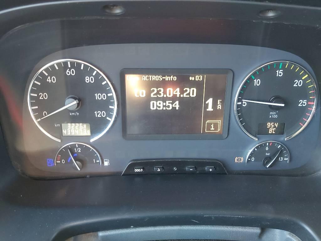 Mercedes-Benz Actros 2541, Kylmä-/Lämpökori kuorma-autot, Kuljetuskalusto