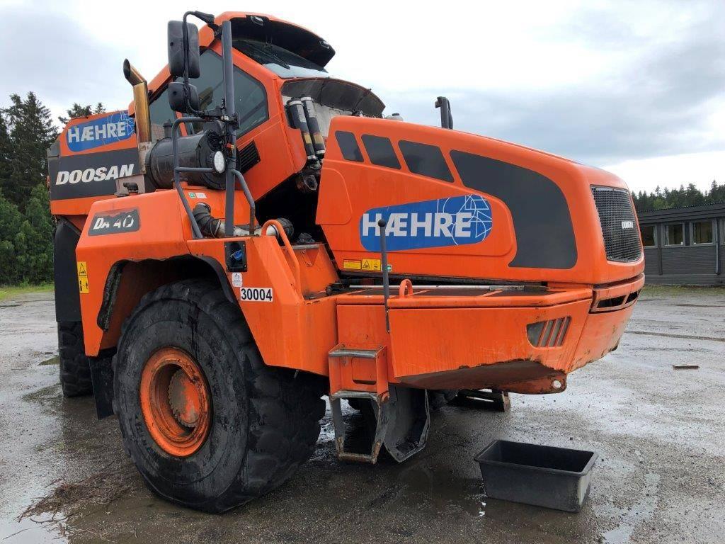 Doosan DA40, Articulated Dump Truck, Construction Equipment