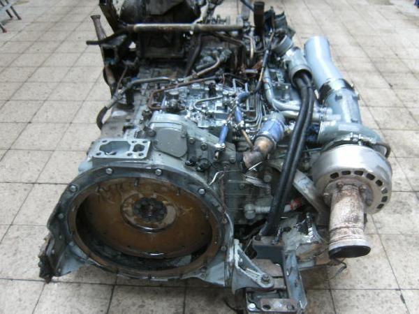 MAN Motor D2866LUH23 / D 2866 LUH 23 - 2002 r., Emmerich ...