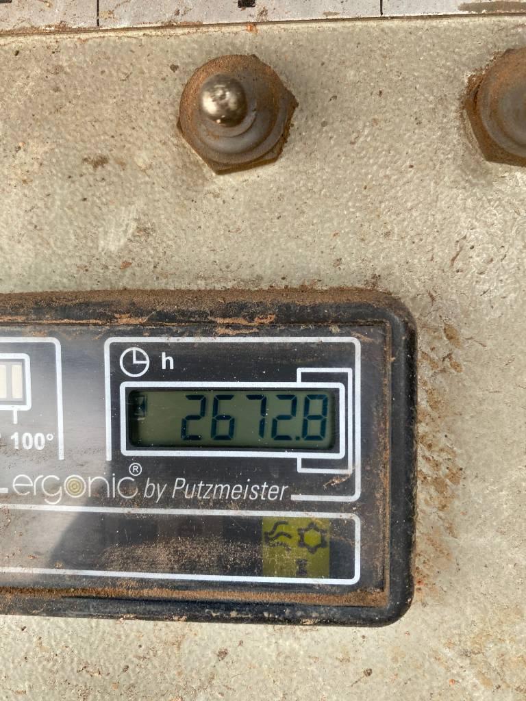Putzmeister BSF 38M, Boom Pumps, Construction Equipment