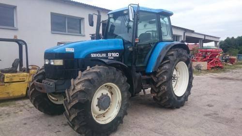 New Holland 8160, Traktory, Maszyny rolnicze