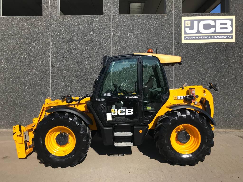 JCB 531-70 Agri Super, Teleskoplæssere til landbrug, Landbrug