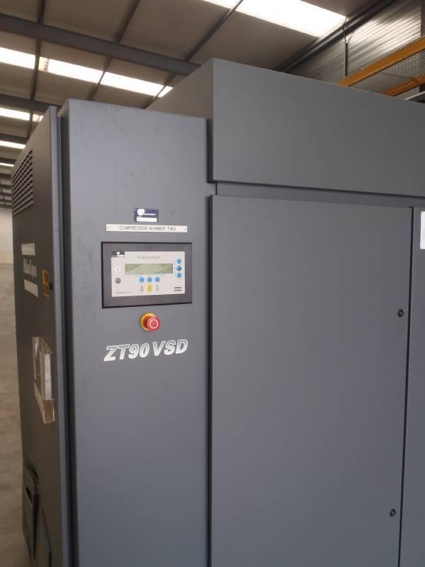 Atlas Copco ZT 90 VSD, Compressors, Industrial