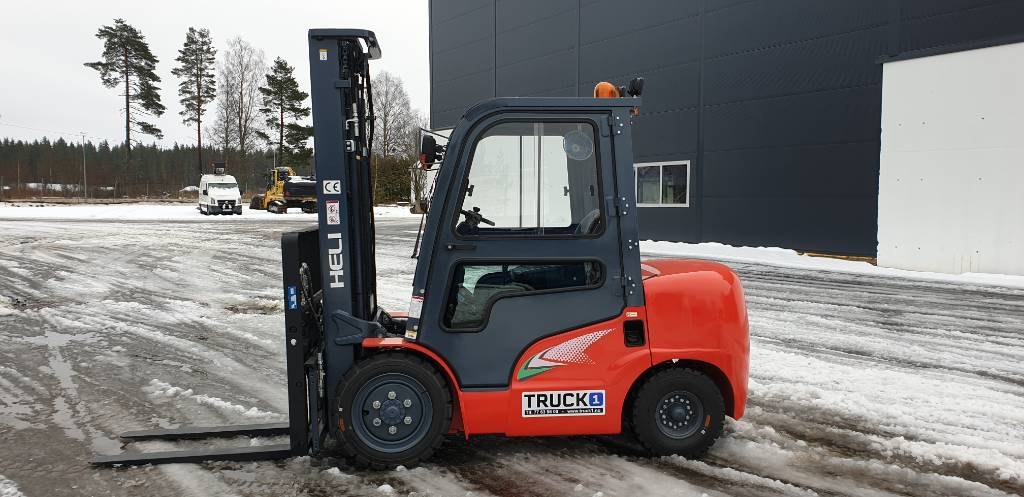 Heli CPCD35 (G2) - 3,5 t diesel - 5,4 m LH, Diesel Trucker, Truck