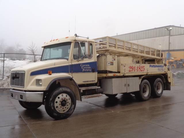 Putzmeister VS 2112L, Boom Pumps, Construction Equipment