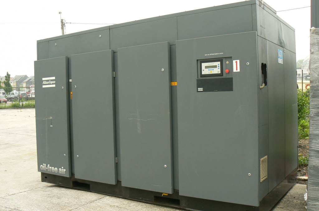 Atlas Copco ZR 355 ( + MD 1000W ), Compressors, Industrial