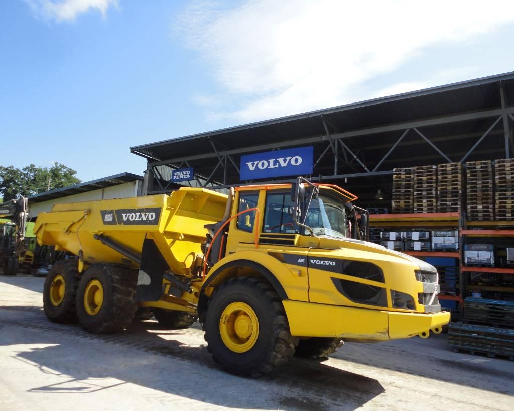 Volvo A 30G, Articulated Dump Trucks (ADTs), Construction Equipment