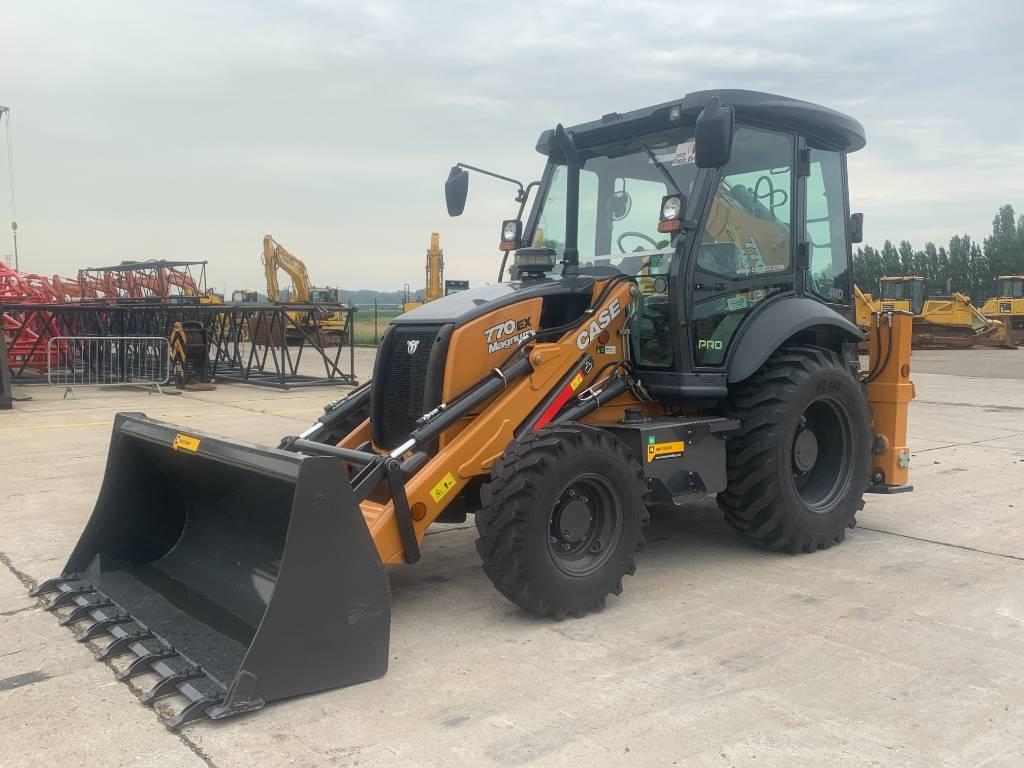 CASE 770 EX, Backhoe loaders, Construction