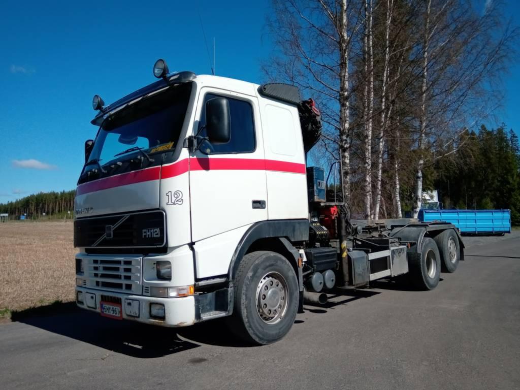 Volvo FH12 6x2 VAIJERILAITE+Palfinger 16tn kymppi 2028, Nosturiautot, Kuljetuskalusto