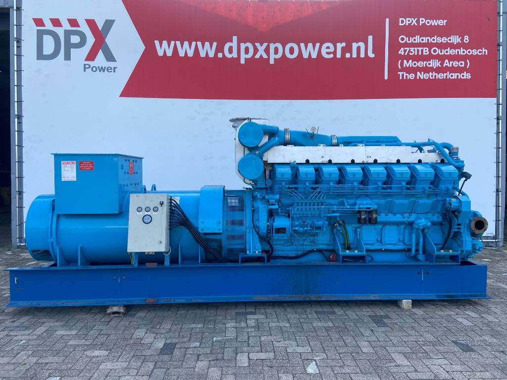 Mitsubishi S16R PTA - 1.500 kVA Generator Set - DPX-12427, Diesel generatoren, Bouw